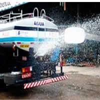 Caminhão pipa para Chuva Artificial em Suzano
