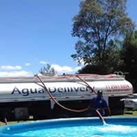 Caminhão Pipa para encher piscina em Suzano
